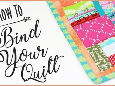 Quilt Binding Tutorial: How To Bind A Quilt #craftschannel #sewingtutorial
