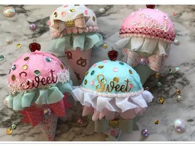 Saturday Morning Crafts #2 Sweet Ice Cream Cones