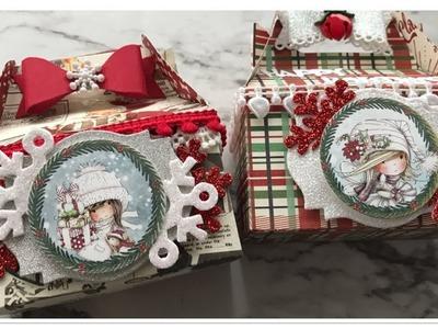 Saturday Morning Crafts #6 Christmas Gable Boxes
