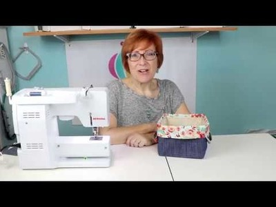 SEW A SIMPLE FABRIC BASKET