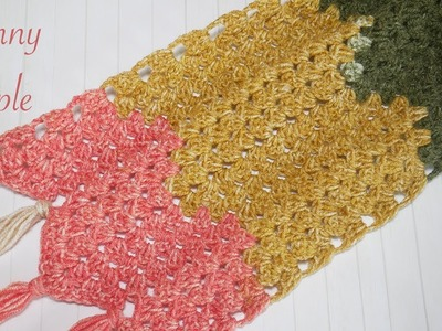 Simple Crochet: Granny Ripple Stitch for blankets & Scarves