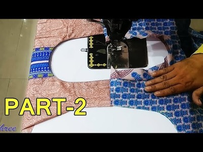 Simple Suit.Kameez cutting and stitching step by step in Hindi