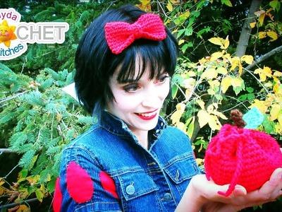 Snow White's Red Bow - Headband Crochet Tutorial