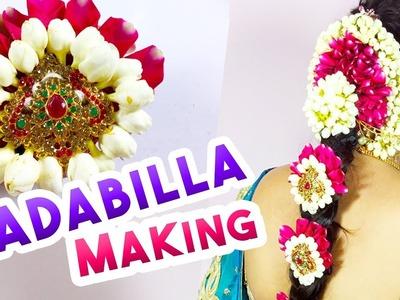 Sravana Masam Varalakshmi Vratham |  How to Make Bridal Hair Accessories- Varalakshmi Pooja Special