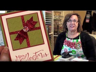 Stamping Jill - Christmas present card