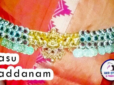 Step by Step Vaddanam Making at Home  | Silk Thread Jewellery Making  | Hairstyles and Fashions