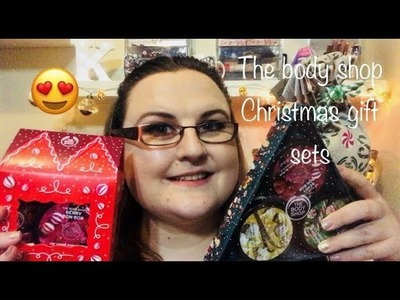 The Body Shop Holiday Gift Sets ???? | Unboxing | Katarina Cooper