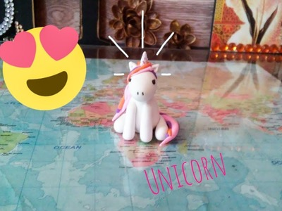 Unicorn charm | Air Dry Clay