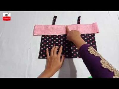 Western style umbrella frock cutting in Hindi - Urdu