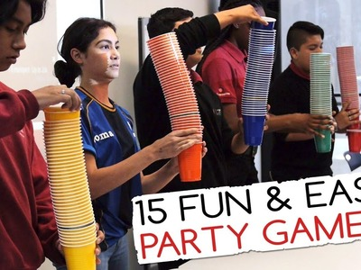 15 Fun & Easy Party Games For Kids (And Adults!) | Minute to Win It Party