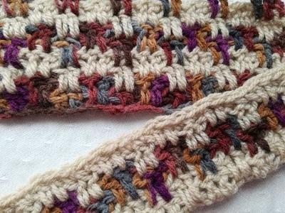 Block stitch easy crochet tutorial by Crochet Nuts