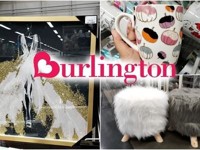 BURLINGTON SHOP WITH ME HOME DECOR WALK THROUGH 2018