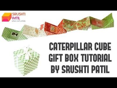 Caterpillar Cubes Gift Box Tutorial by Srushti Patil