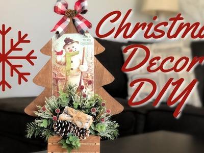 Christmas Decor DIY | Dollar Tree  Christmas DIY