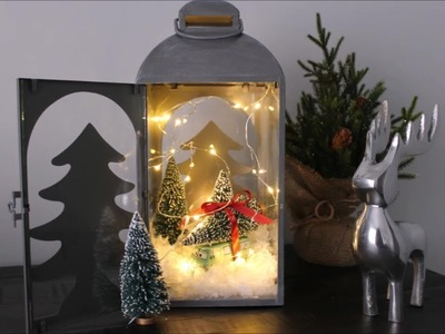 Christmas Lantern DIY | Home Decor | How To