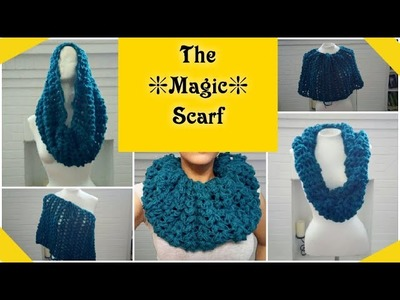 ✨Crochet Scarf Pattern✨ Magic Scarf