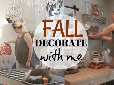 DECORATE WITH ME| FALL 2018 HOME DECOR| Megan Navarro