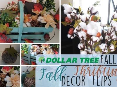DIY Dollar Tree Fall Decor | Repurpose Wooden Crate | Thrift DIY | DIY Fall Decor