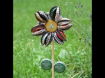 Diy flower from bottle caps(2)