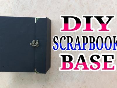 DIY || How to make a scrapbook base || Step by step tutorial || By sajeda sheliya