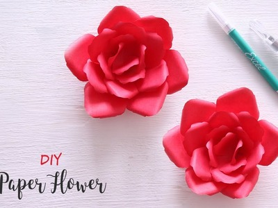 DIY Paper Flowers with Excel Blades | Paper Cutting Art