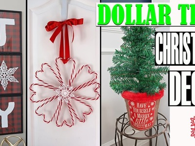DOLLAR TREE CHRISTMAS DECOR - DIY PROJECT 2018