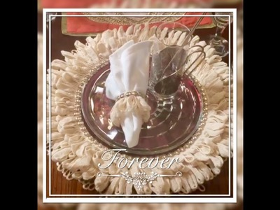 Dollar Tree DIY Home Decor Glam Thanksgiving Charger Plates Creating Elegance For Less 2018