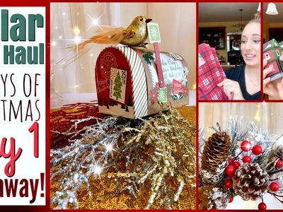 Dollar Tree HAUL | 25 Days of Christmas: DAY 1 | GIVEAWAY (CLOSED)