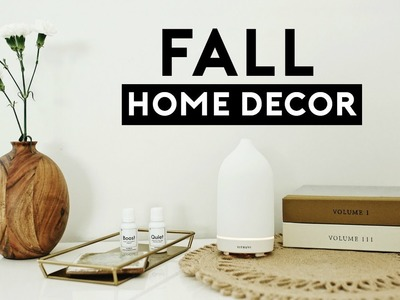 FALL HOME DECOR HAUL! AUTUMN HOME DECORATIONS 2018 + $100 GIVEAWAY