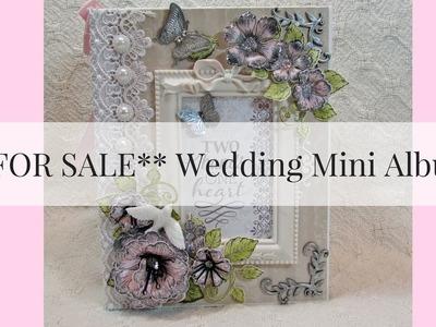 **FOR SALE**  Wedding Mini Album