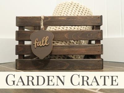 Garden Crate | Fall Home Decor