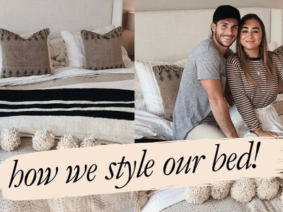 Home Decor: HOW WE STLYE OUR BED   Julia Havens