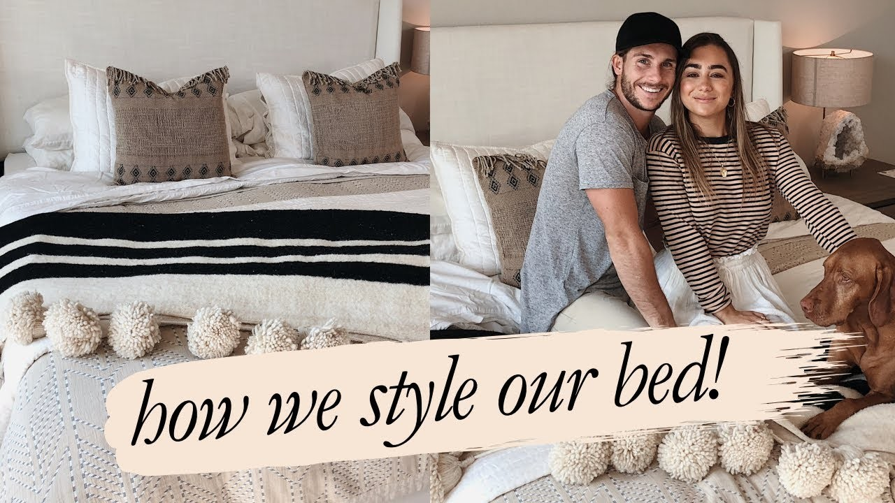Home Decor: HOW WE STLYE OUR BED | Julia Havens