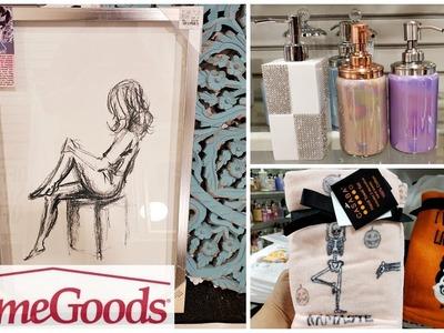 HomeGoods Wall decor Bathroom Home ideas SHOP WITH ME 2018