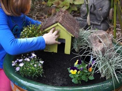 How To Create A Fairy Garden In A Pot