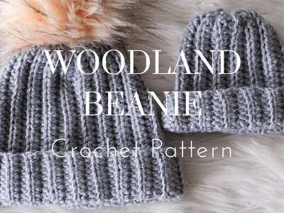 How To Crochet - Ribbed Beanie
