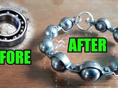 How To Make A Ball Bearing Bracelet