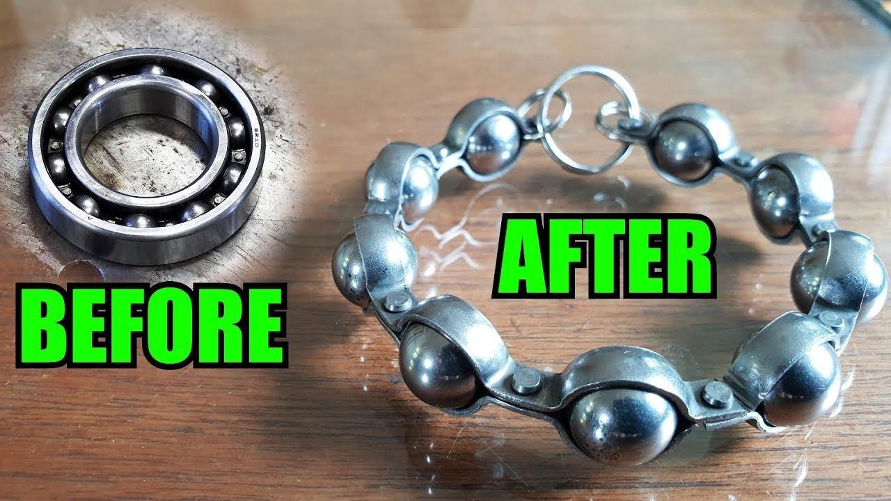 How To Make A Ball Bearing Bracelet