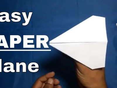 How to make a paper airplane For kids