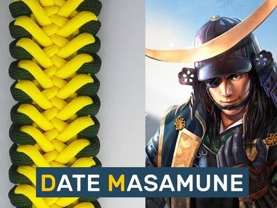 How to make Paracord Bracelet Date Masamune