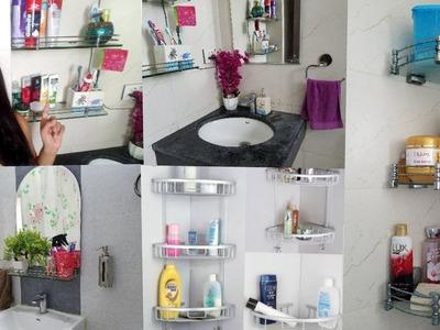 Indian Small Bathroom Organization | Indian Bathroom Storage ideas |  Indian Mom Studio