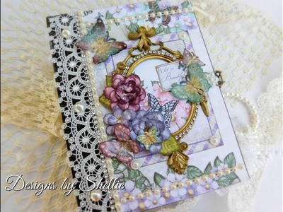 MINI ALBUM BUTTERFLY MEDLEY FOR SALE SHELLIE GEIGLE JS HOBBIES AND CRAFTS