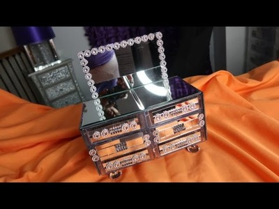 Mini Mirrored Double Sided Dresser ~ Craft with me, Live - 10.27.2018