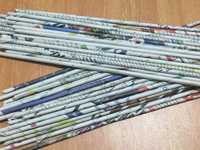 Newspaper craft idea | Newspaper Multipurpose organiser | Newspaper basket