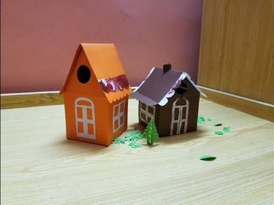 """Paper house project for kids""""full video  tutorial"""""""