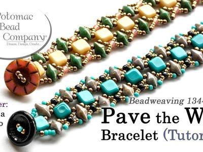 Pave the Way Bracelet - Beadweaving Tutorial