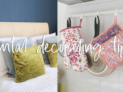 Renter Hacks for Decorating you need to Try | Rental Decorating Hacks