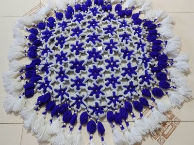 THALIPOSH FLOWER PATTERN | CROCHET | HINDI