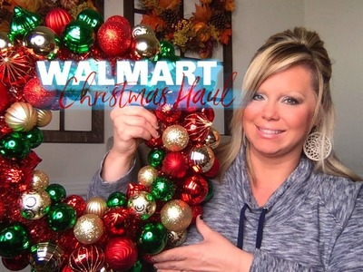 WALMART.AMAZON CHRISTMAS ???? HAUL - LET THE CHRISTMAS PREPPING BEGIN!