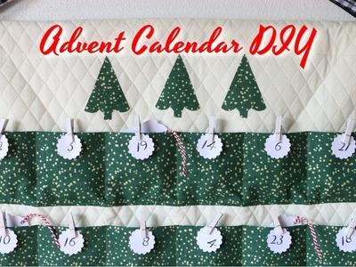 Advent Calendar DIY - Simple Sewing Tutorial